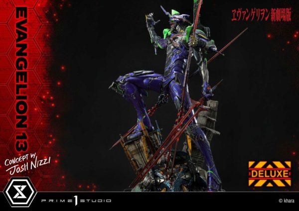 Evangelion: 3.0 You Can (Not) Redo Statue Evangelion 13 Concept by Josh Nizzi Deluxe Version 79 cm Prime 1 Studio UK evangelion 13 josh nizzi deluxe statue prime 1 studio UK Animetal