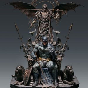 DC Comics Statue 1/4 Batman on Throne Queen Studios UK dc comics figures UK dc comics batman on throne scale figure queen studios UK Animetal