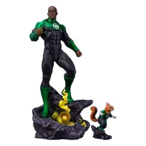 DC Comics Maquette 1/6 John Stewart - Green Lantern Tweeterhead UK dc comics figures UK maquette green lantern scale statue UK Animetal