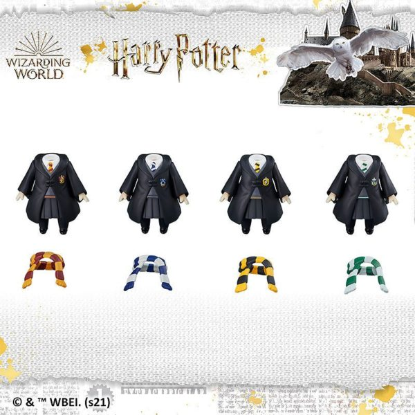 Harry Potter Nendoroid More 4-pack Parts for Figures Dress-Up Hogwarts Uniform Skirt Style Good Smile Company UK harry potter figure accessories UK Animetal