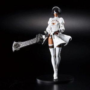 NieR:Automata PVC Statue YoRHa Android 2B (YoRHa No.2 Type B) 2P Color Ver. Square Enix UK nier automata yorha android 2b figure square enix UK Animetal