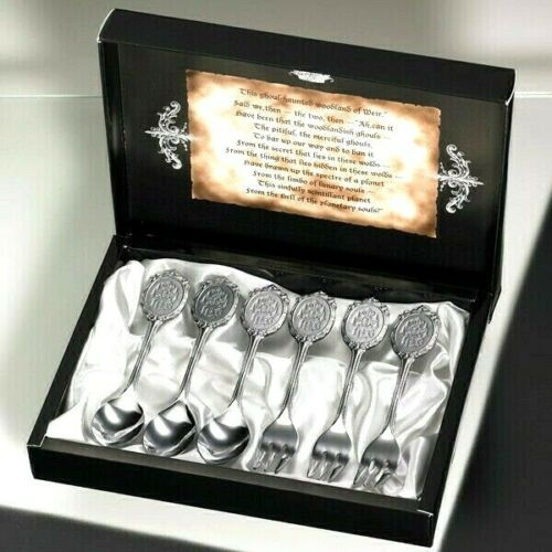 Black Butler Cutlery Set - Phantomhive Cutlery Set Square Enix UK Black Butler cutlery set UK black butler ciel cutlery set square enix UK Animetal