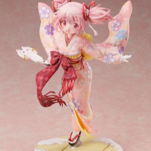 Puella Magi Madoka Magica Side Story Magia Record PVC Statue 1/7 Madoka Kaname Kimono Ver. Furyu UK madoka kaname kimono version furyu statue UK Animetal