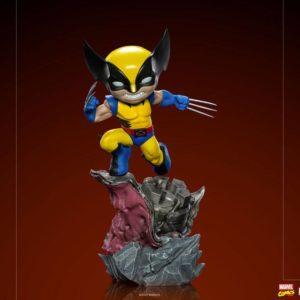Marvel Comics Mini Co. Deluxe PVC Figure Wolverine (X-Men) Iron Studios UK marvel mini co wolverine figure UK marvel mini co wolverine statue UK Animetal