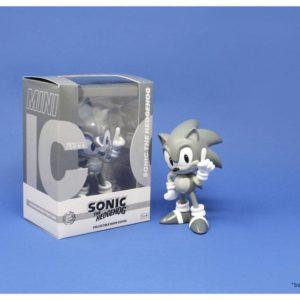 Sonic the Hedgehog Mini Icons Statue 1/6 Sonic Grey Edition Neamedia Icons UK Sonic the Hedgehog figures UK Sonic the Hedgehog mini icons figure UK Animetal