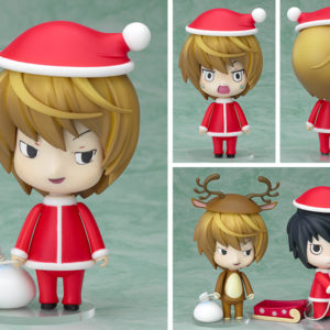 Death Note Nendoroid 030 Action Figure Light Yagami Santa Ver. Good Smile Company UK death note nendoroid 30 death note yagami light christmas nendoroid UK Animetal