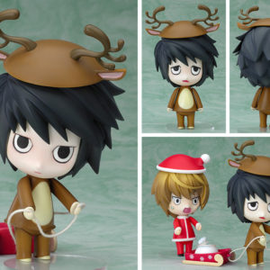 Death Note Nendoroid 031 Action Figure L Reindeer Ver. Good Smile Company UK death note nendoroid 31 death note l christmas nendoroid UK Animetal