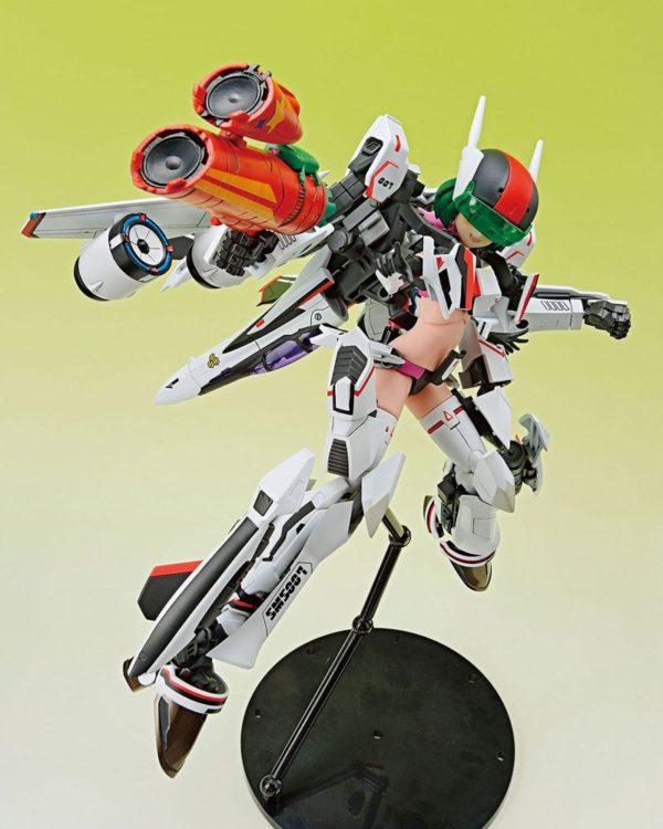 Macross F V.F.G. Action Figure VF-25F Messiah Ranka Lee Aoshima UK macross ranka lee aoshima statue UK macross ranka lee action figure UK Animetal