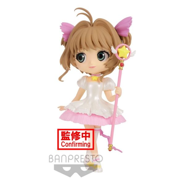 Cardcaptor Sakura Sakura Card Q Posket Mini Figure Sakura Kinomoto Ver. A Banpresto UK cardcaptor sakura q posket sakura kinomoto figure banpresto UK Animetal