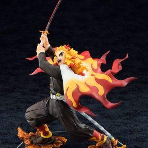 Demon Slayer: Kimetsu no Yaiba Statue 1/8 Kyojuro Rengoku Bellfine UK demon slayer Kyojuro Rengoku bellfine scale statue UK demon slayer kyojuro statue UK Animetal