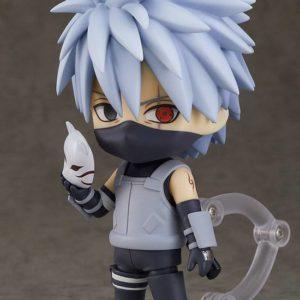 Naruto Shippuden Nendoroid PVC Action Figure Kakashi Hatake: Anbu Black Ops Ver. Good Smile Company UK naruto kakashi nendoroid UK Animetal