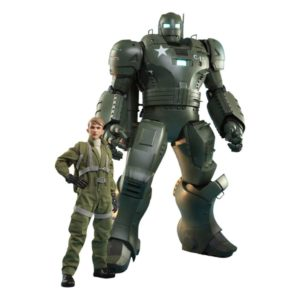 What If...? Action Figures 1/6 Steve Rogers & The Hydra Stomper Hot Toys UK what if steve rogers and hydra stomper action figure set hot toys UK Animetal