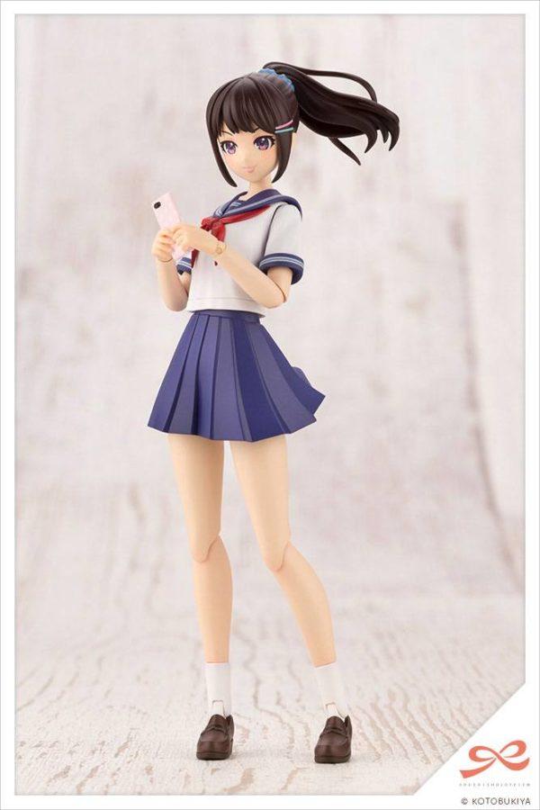 Sousai Shojo Teien Plastic Model Kit 1/10 Madoka Yuki Touou High School Summer Clothes Kotobukiya Model Kit UK sousai shojo model kits UK Animetal