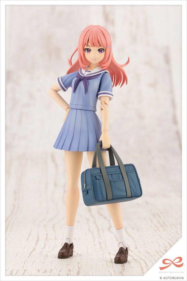 Sousai Shojo Teien Plastic Model Kit 1/10 Madoka Yuki Touou High School Summer Clothes Kotobukiya UK sousai shojo kotobukiya model kit UK Animetal