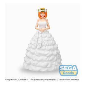The Quintessential Quintuplets 2 SPM PVC Statue Yotsuba Nakano Bride Ver. SEGA UK Quintessential Quintuplets 2 yotsuba nakano bride version sega figure UK Animetal