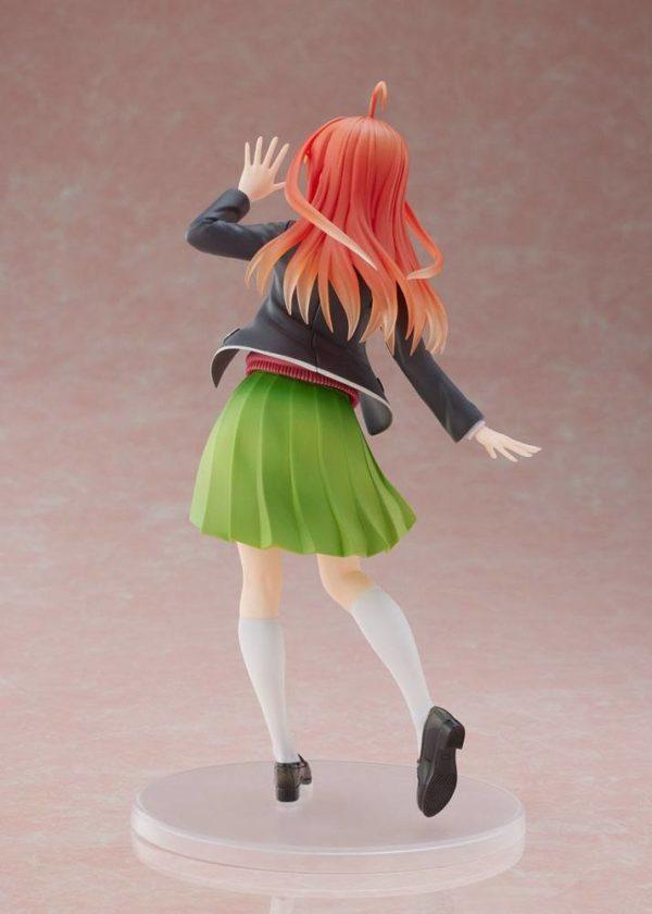 The Quintessential Quintuplets Coreful PVC Statue Nakano Itsuki Uniform Ver. Taito UK Quintessential Quintuplets itsuki nakano uniform version taito figure UK Animetal