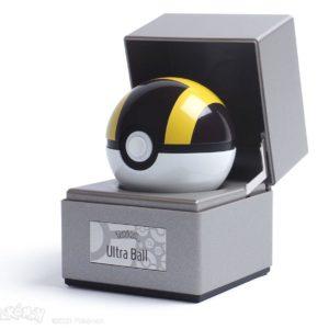 Pokémon Diecast Replica Ultra Ball Wand Company UK pokemon ultra ball full scale replica UK pokemon ultra ball diecast replica with display case UK Animetal