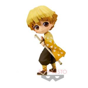Demon Slayer Kimetsu no Yaiba Q Posket Mini Figure Zenitsu Agatsuma Banpresto UK demon slayer zenitsu figure banpresto UK demon slayer zenitsu q posket figure UK Animetal